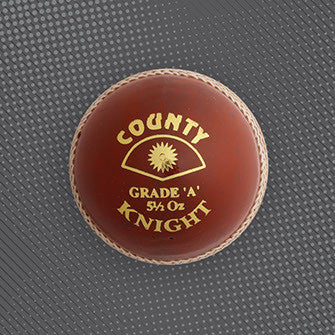 Hunts County Grade A cricket red ball