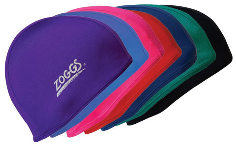Zoggs deluxe stretch cap swimming