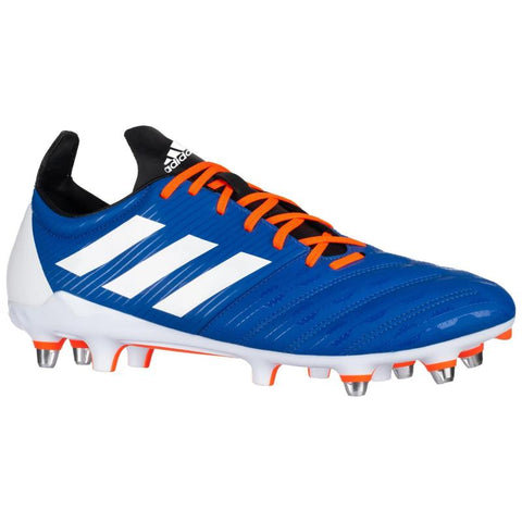 Adidas Malice SG Rugby Boot Adult Blue/White