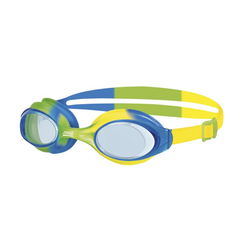 Zoggs Bondi Junior Goggles blue/green/yellow
