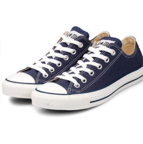 Converse Chuck Taylor All Stars low trainers Navy - Unisex