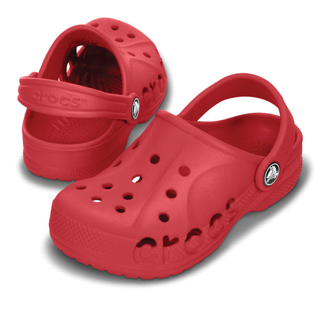 Crocs Childrens kids shoe sandals red pepper