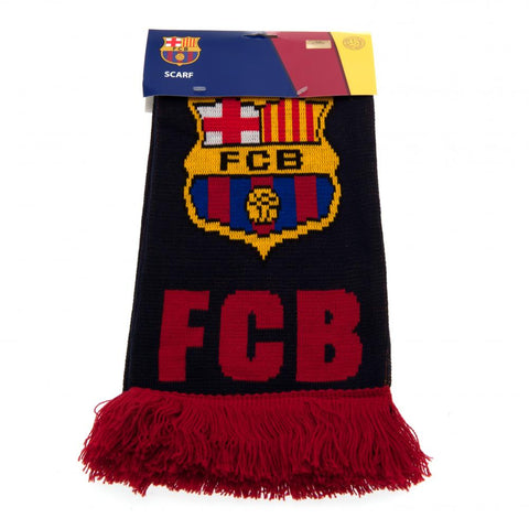 Barcelona supporters football scarf
