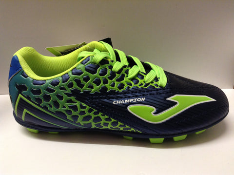 Joma Champion JR 504 (blue/green 22 studs) Junior football boots