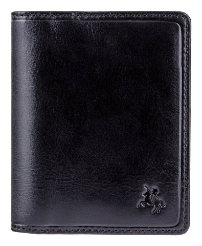 Visconti Mens Leather Wallet For Credit Cards With RFID Fraud Protection