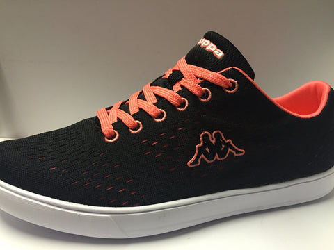 Kappa Ladies trainers Black Coral