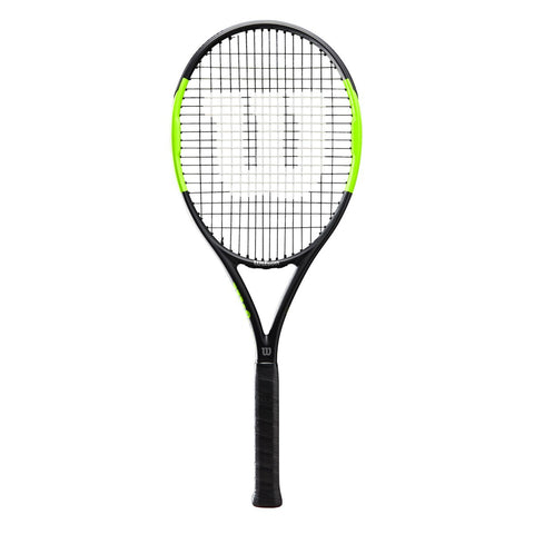 Wilson Blade feel team 103 tennis racket- BLACK/GREEN