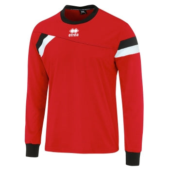 Errea Falkland Jersey Red/black/white