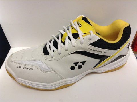 Yonex SHB-33EX Squash shoe (black and yellow) mens