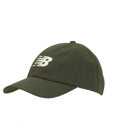 New Balance Men's 6-panel Curved Brim Snapback Cap Dark Green