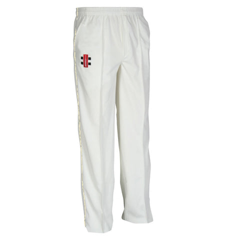 Gray Nicolls Trouser Matrix Junior Ivory Trim Cricket Trousers