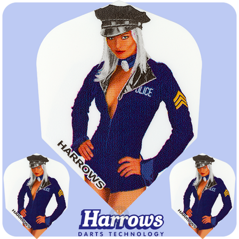 Harrows sexy girls set of 3 dart flights