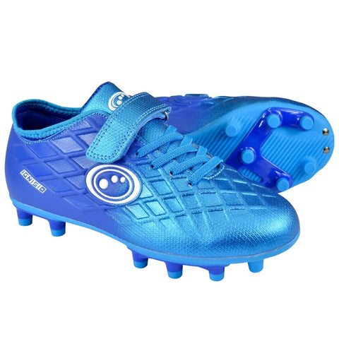 Optimum Arctic Blue Ignisio junior moulded football boot