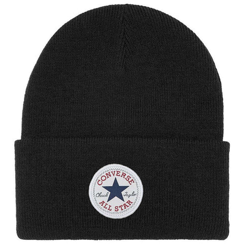 Converse Tall cuff knit Beanie Hat - Black or Grey.