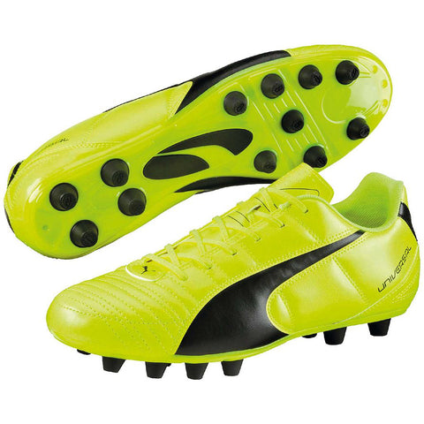 Puma Universal II FG Football Boots Safety Yellow
