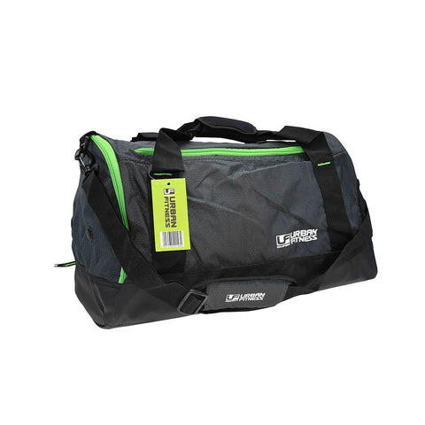 Urban Fitness small holdall bag charcoal/black/green