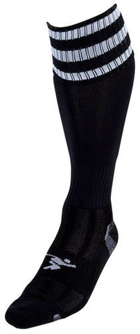 Precision Pro 3 Stripe Football Socks Adult 7-11