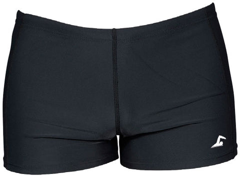 Swim Tech Adults Aqua Swim Shorts Black