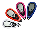 Timing in sport Pro077 Fitness 3D Pedometer with Lanyard