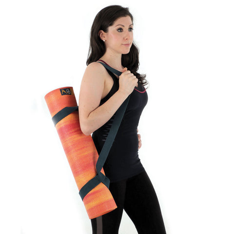 6mm Thick Fitness Mad Pilates Yoga Mat - High Quality Yoga Mat & Carry Strap