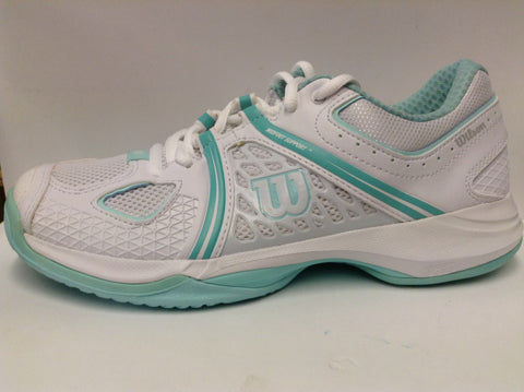 Wilson Nvision W - White/mint - Women's tennis