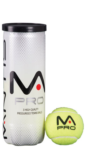 Mantis Pro tennis balls (pack of 3)