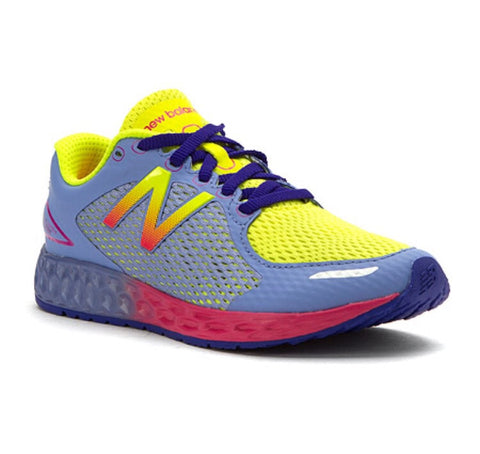New Balance zante junior running trainers lavender