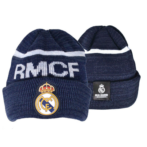 Real Madrid Turn up hat navy