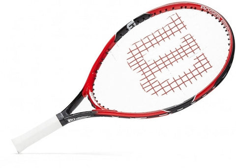 Wilson Roger Federer Junior Tennis Racket - black/red