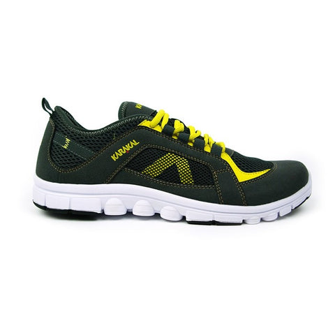 Karakal Flex 200 Yellow/Grey Sports Trainers