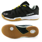 Karakal prolite black mens court shoe