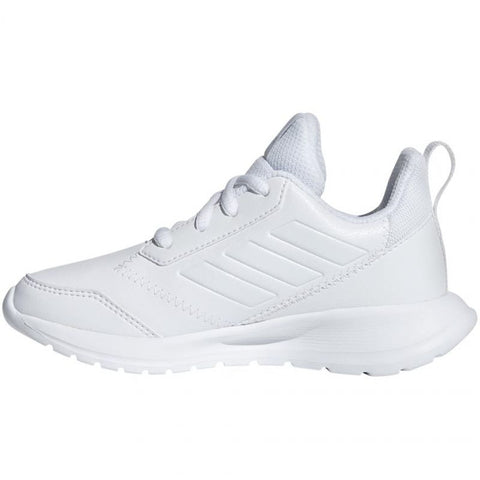 Adidas Alta run k sports trainers - Pure White - often used for cheerleading