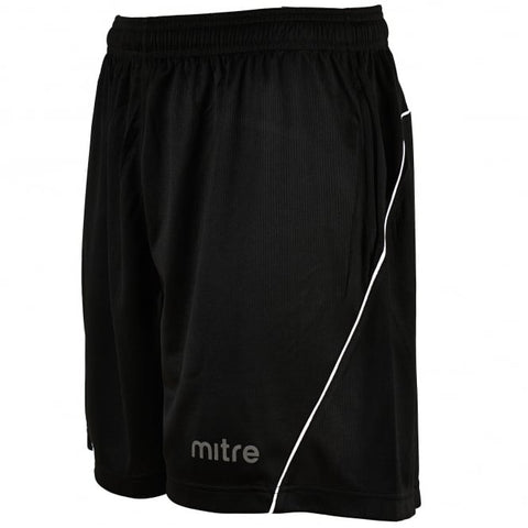 Mitre Diffract Referee Shorts Black 36/38""