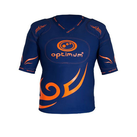 OPTIMUM tribal rugby five pad body armour Adult sizes