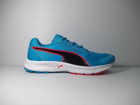 Puma Descendant v3 - Blue/black/red - Men's trainer