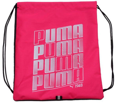 Puma drawstring Gym bag Pink