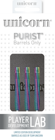 Unicorn Purist Darts Barrels Only, James Wade Phase 2 20g 90% Tunsten