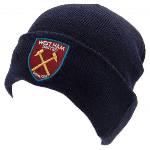 WEST HAM UNITED knitted wooly hat