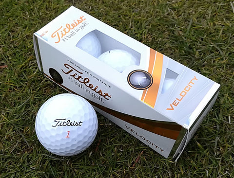 Golf Balls 3 ball packs Various models from titleist srixon taylormade and wilson staff