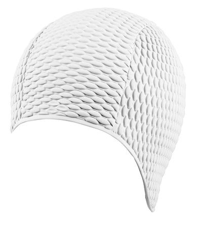 Beco Bubble Latex White Swim Cap