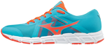 Mizuno Synchro SL2 Ladies running trainers Blue Atoll / Fiery Coral / White uk seller