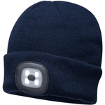 Portwest Workwear B029 -Beanie LED Head Light USB Rechargeable