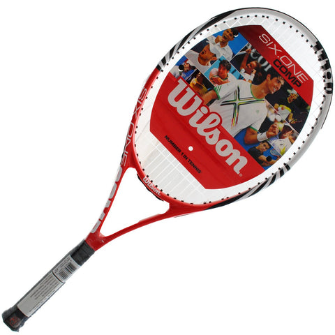 Wilson Six One Competition Tennis Racket with head cover