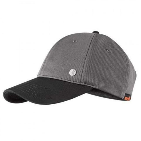 Scruffs Workwear Classic Men's Baseball Cap Adjustable Work Hat - Graphite Grey