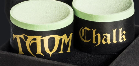 Taom Snooker chalk eradicates Kicks! no chalk leaves tip!
