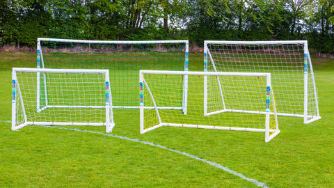 Samba Fun Football Goal, 8' wide x 4' high.