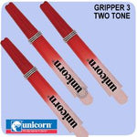 Unicorn Gripper 3 Set of 3 Grip Lock Dart Shafts - Fade 2 Tone Design