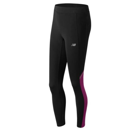 New Balance  Accelerate  Tight Ladies performance Legging Black Pink