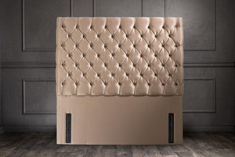 Chrystal Upholstered Floor Standing Headboard