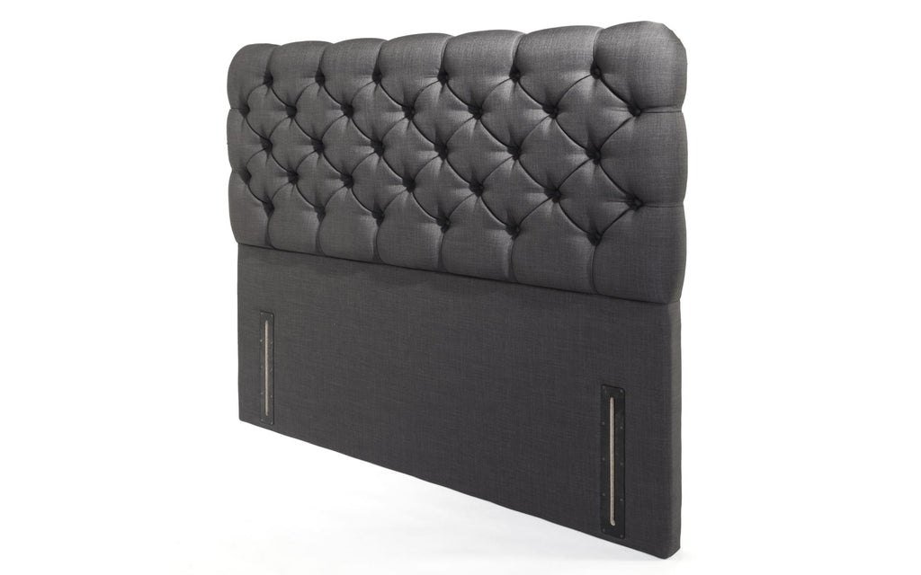 headboard jumbo ith drawer ortho black thick divan velvet crushed standing matteress picture free of end set complete